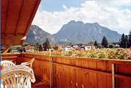 Balkon der Ferienwohung